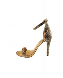 Sandal Gold Glitter by Miguel Marinero