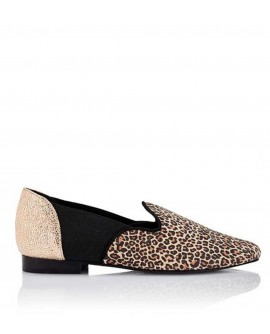 Mocasines planos The Sleeper Leopardo