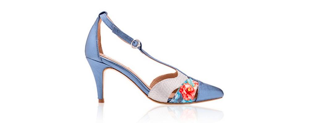 Zapato de tacón medio Flecha 65 de Miss García