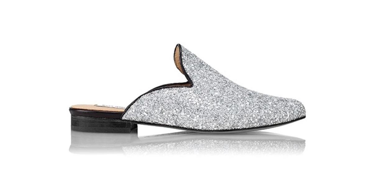 Slipper Hall glitter plata - Miss García