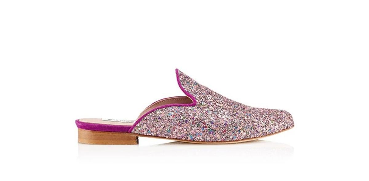 Slipper Hall Glitter Purple