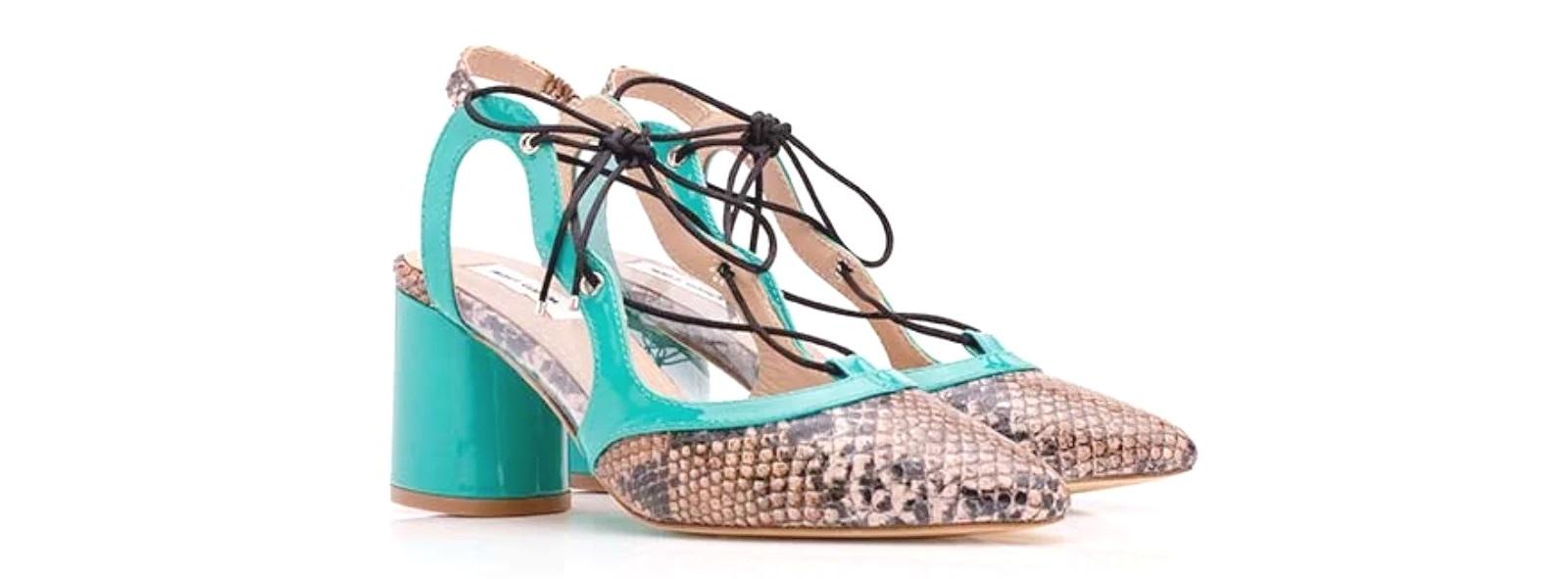 zapatos de tacón ancho Maio de Miss García