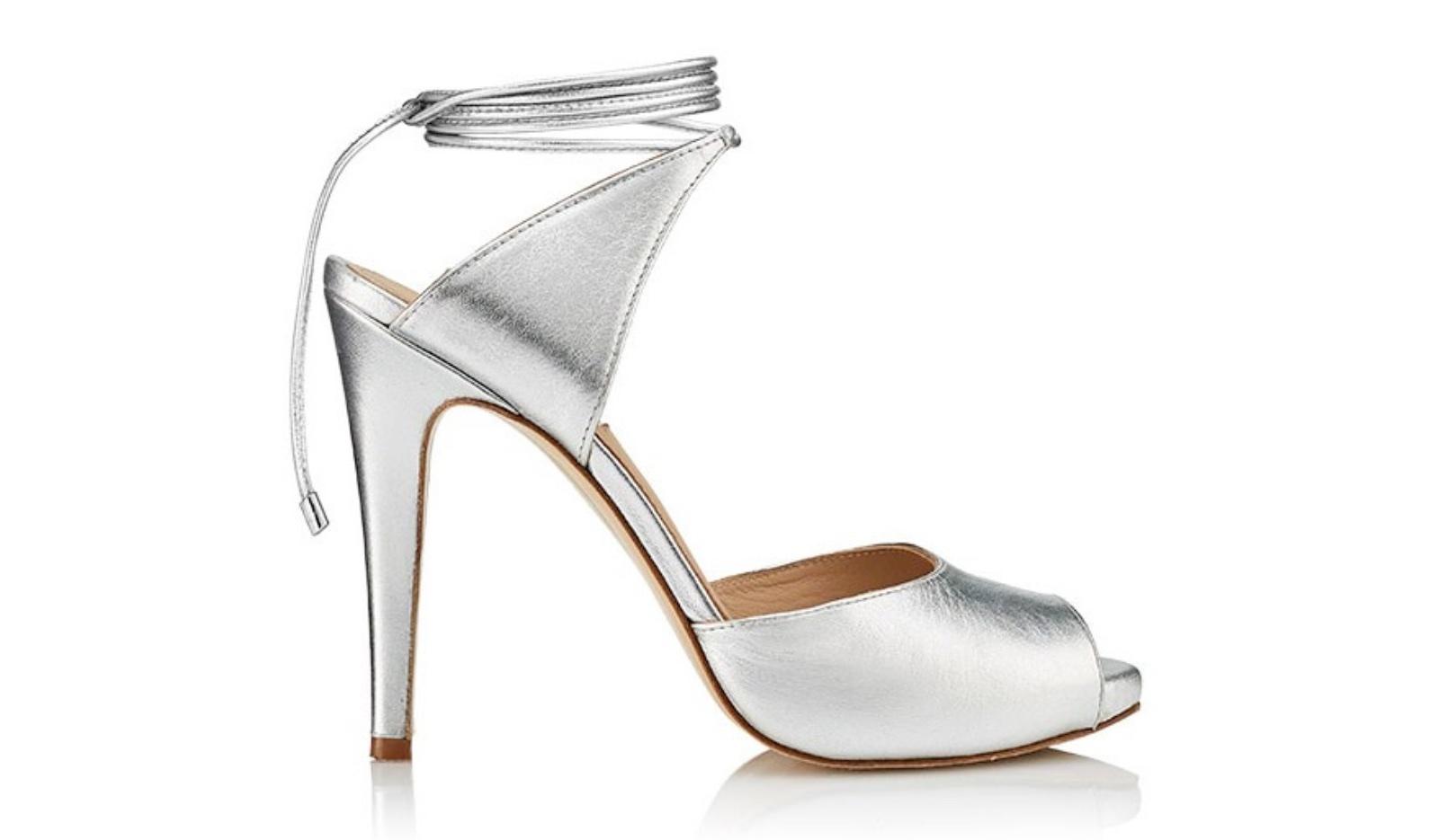 Sandalia de tacón Cosmopolitan Silver - Miss García