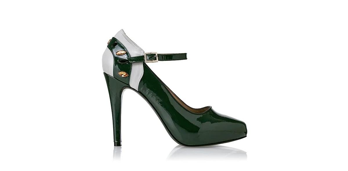 Zapato de charol Ficus Forest - Miss García