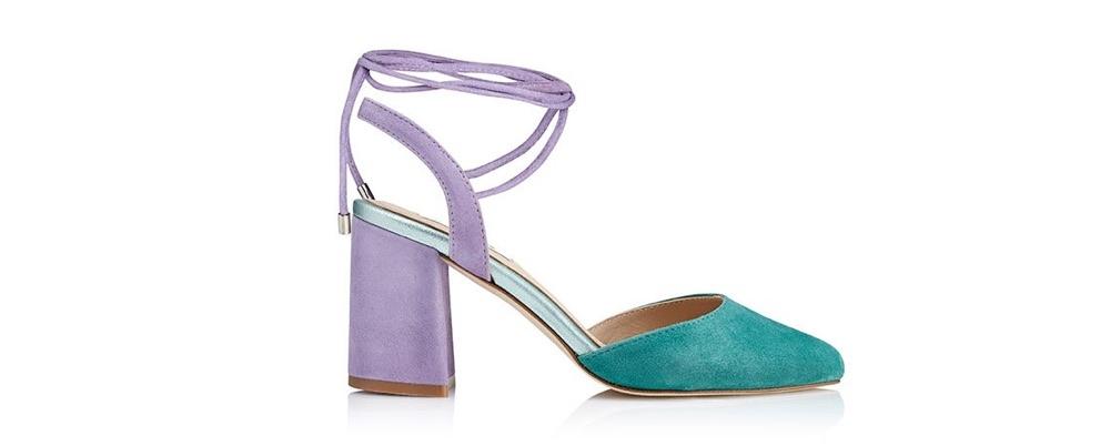 Zapato de tacón ancho Daiquiri Sirena - Miss García