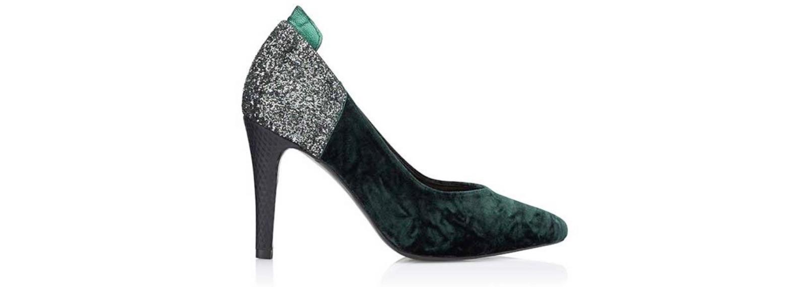 Zapato de tacón Isadora Verde - Miss García