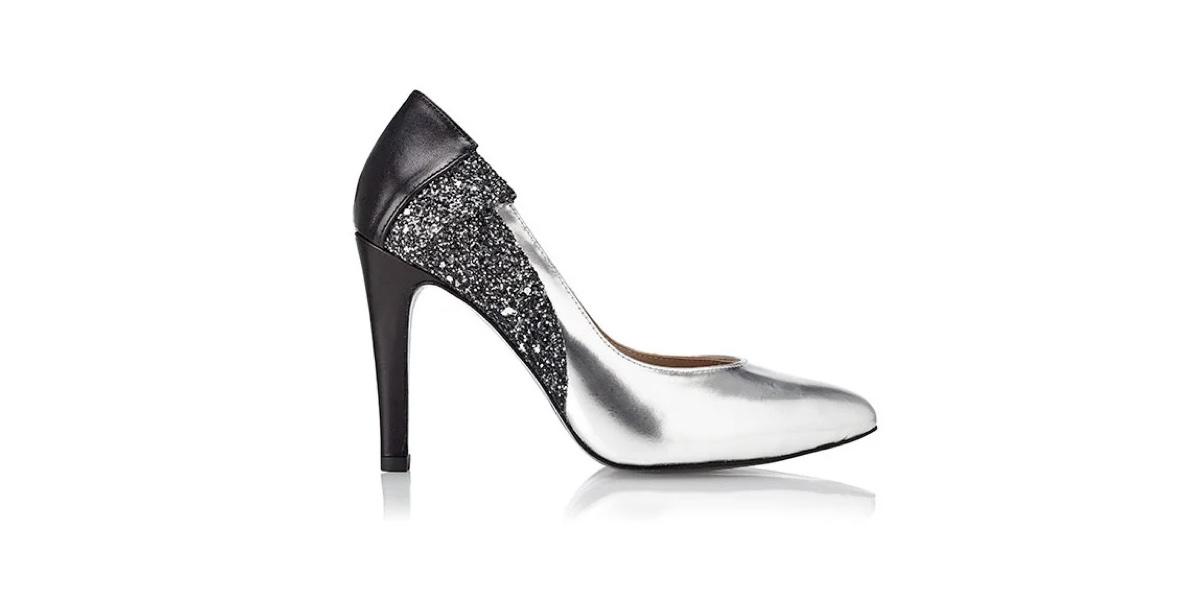 Zapato de tacón Furisode Negro - Miss García